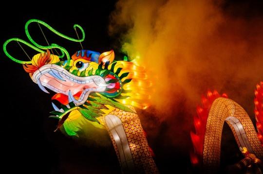 Pour la première fois à Moscou, le célèbre festival des lanternes chinoises magiques