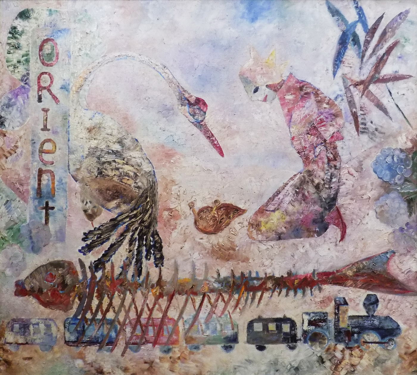 "Exposition ""Mother of Pearl Daydream. À la mémoire d'Albert Martynenko"""