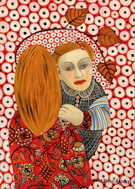 Lyusya Voronova. Jardin d'Eden
