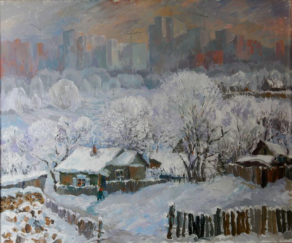 Александр Веснин. Перед Рождеством. 2018