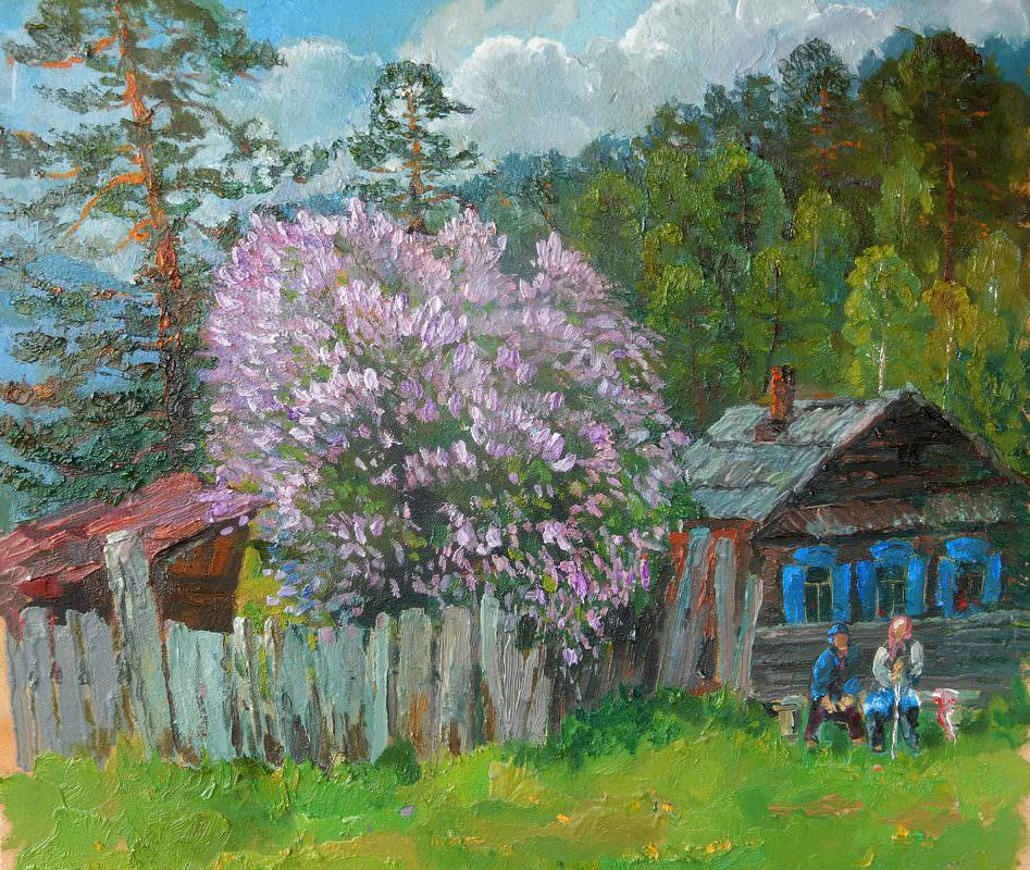 Александр Веснин. Соседки