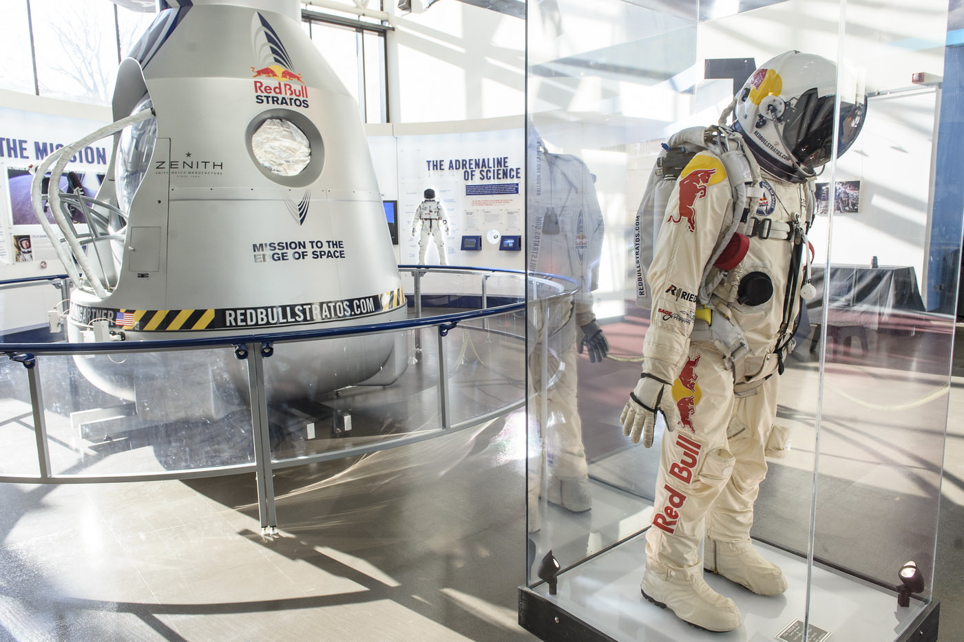 Cápsula original Red Bull Stratos