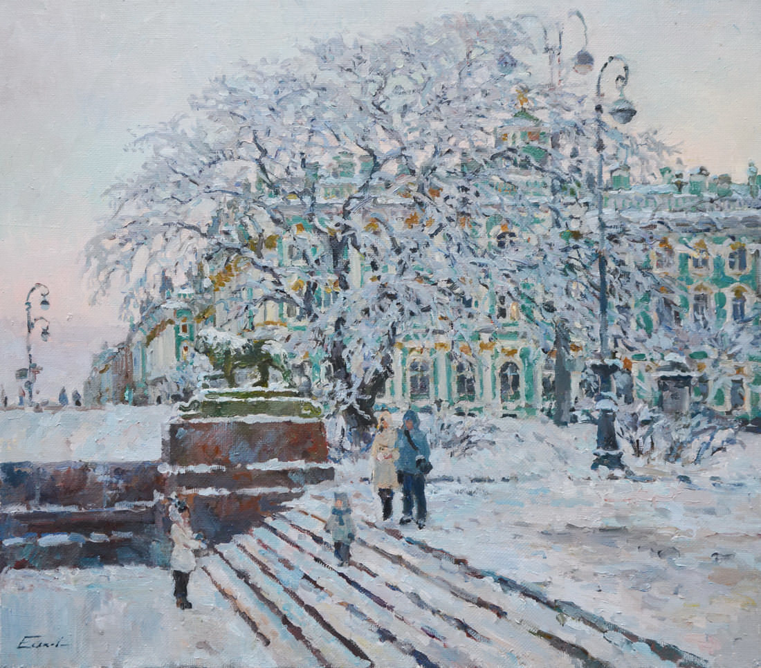 "PAVEL ESKOV ""THE SNOW IS COMING"""