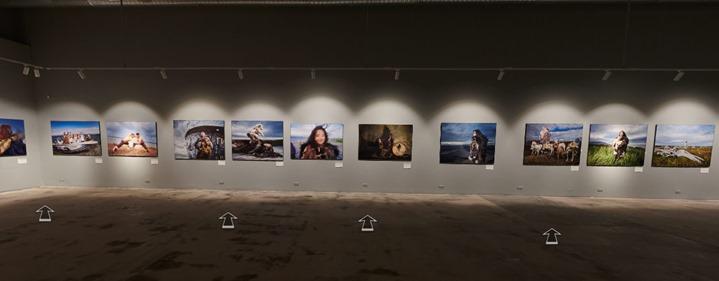 OLEG ZOTOV AND IDA RUCHINA Chukotka. Epic saga. Introduction. Online exposition with 3D / VR tour