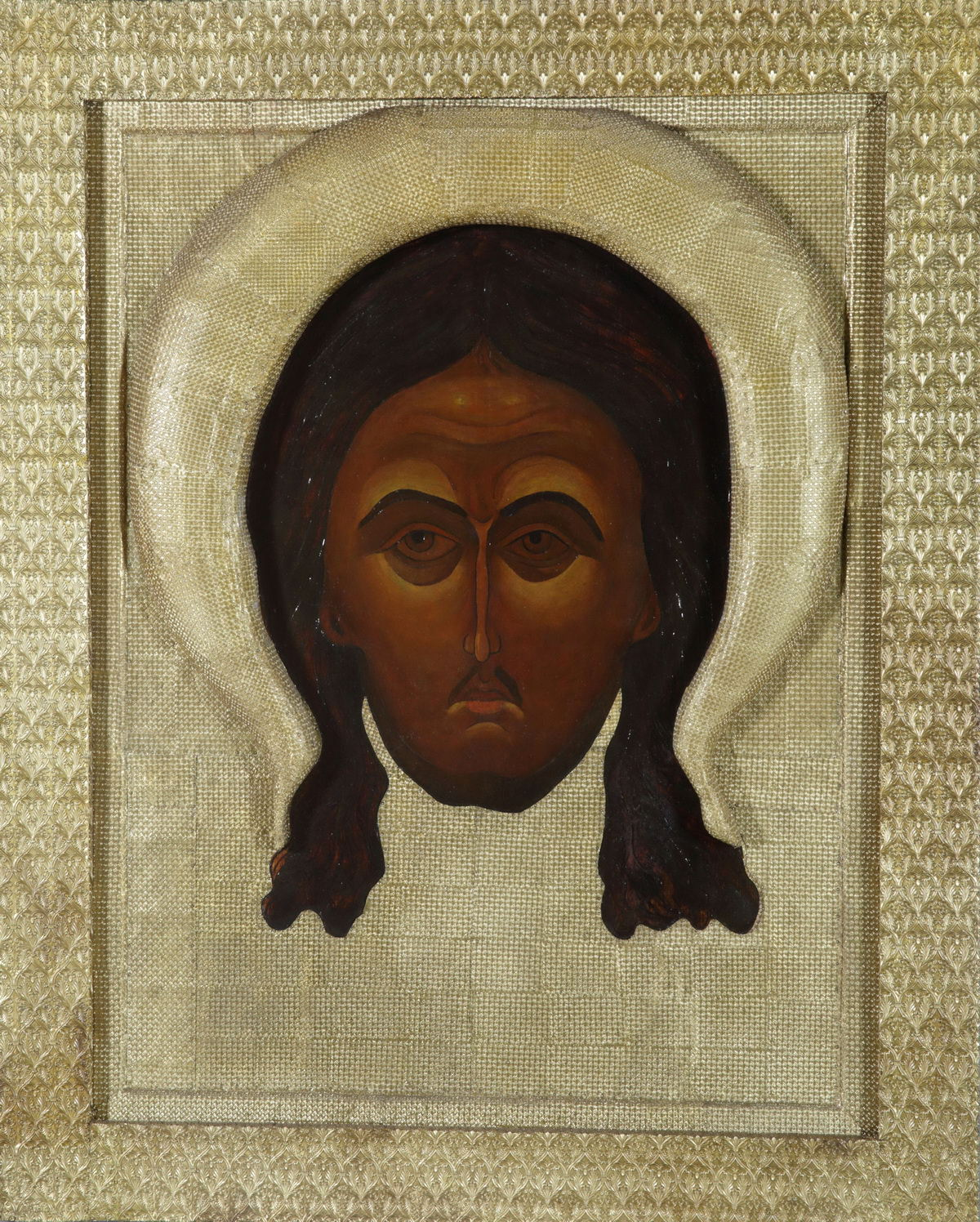 Рерих Н.К. Икона. Спас Нерукотворный. 1907
