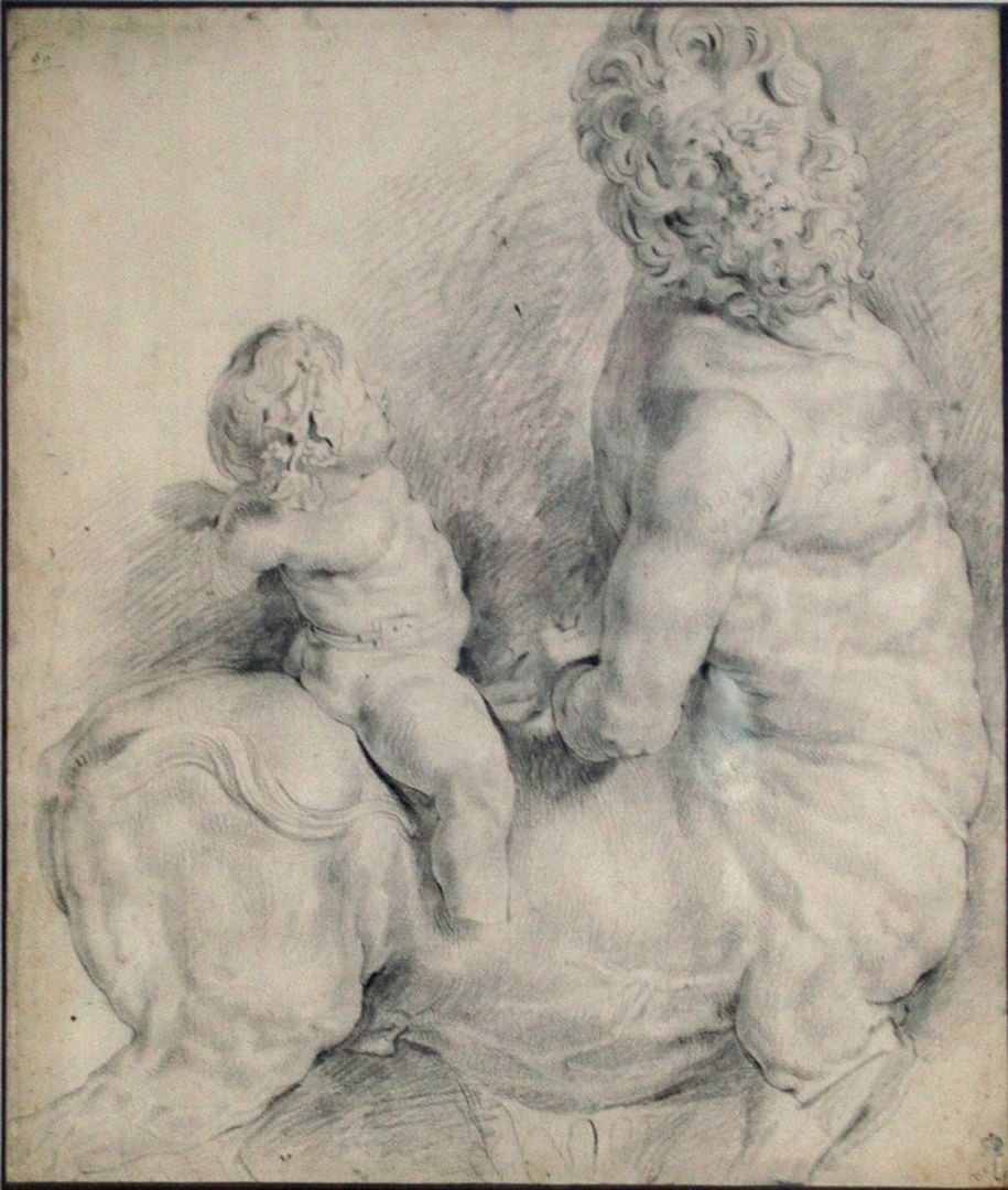 Петер Пауль Рубенс (1577–1640). Кентавр, покоренный амуром. Ок. 1505–1508. ГМИИ им.А.С. Пушкина