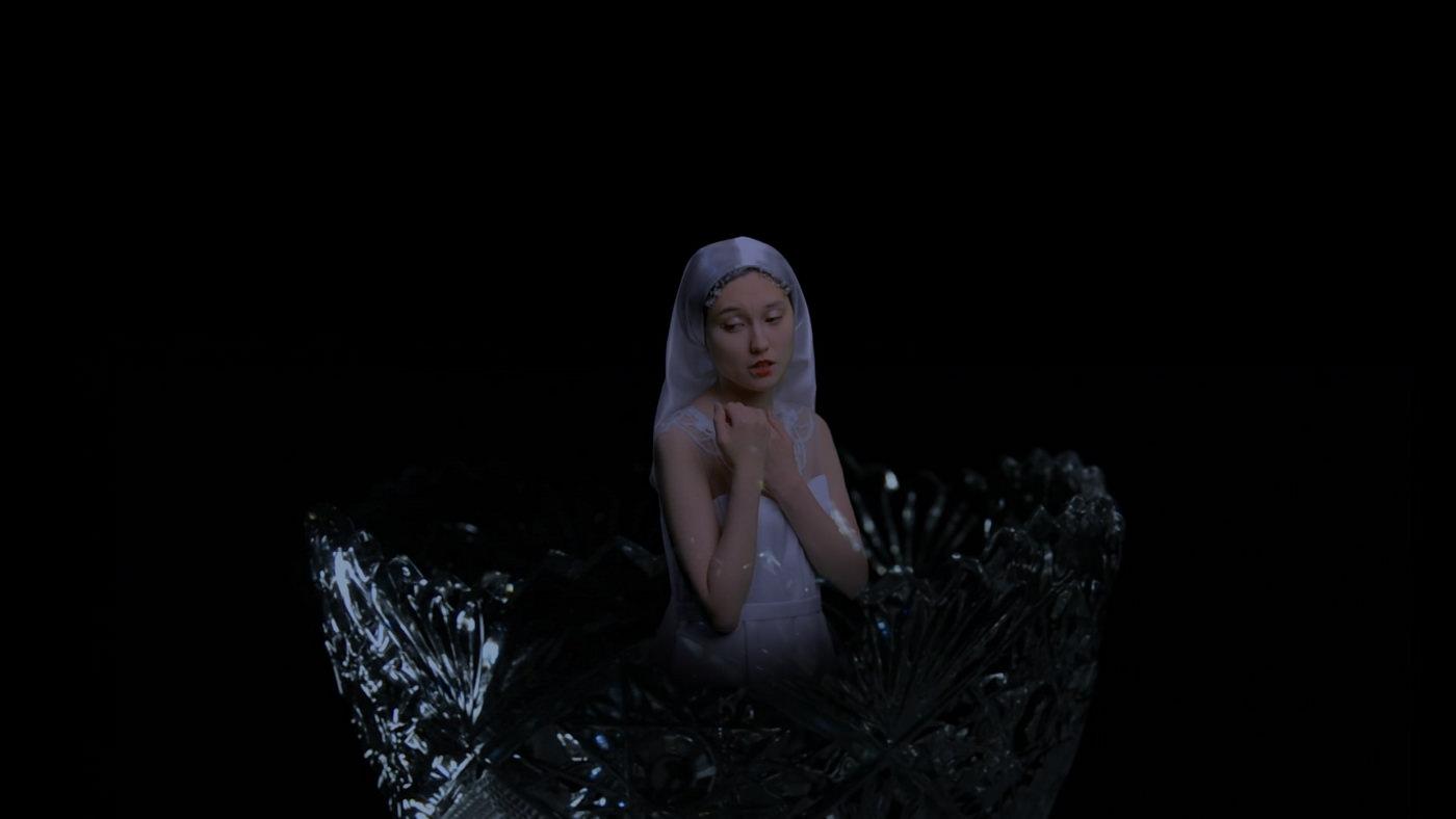 Диана Капизова. Падали в воду хрустальные слезы, 2020. видео