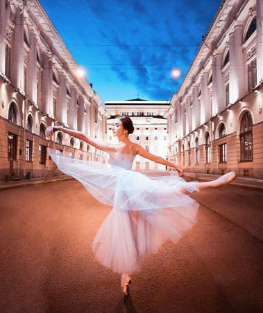 Балетные линии Петербурга. Тоня Екимова 0+