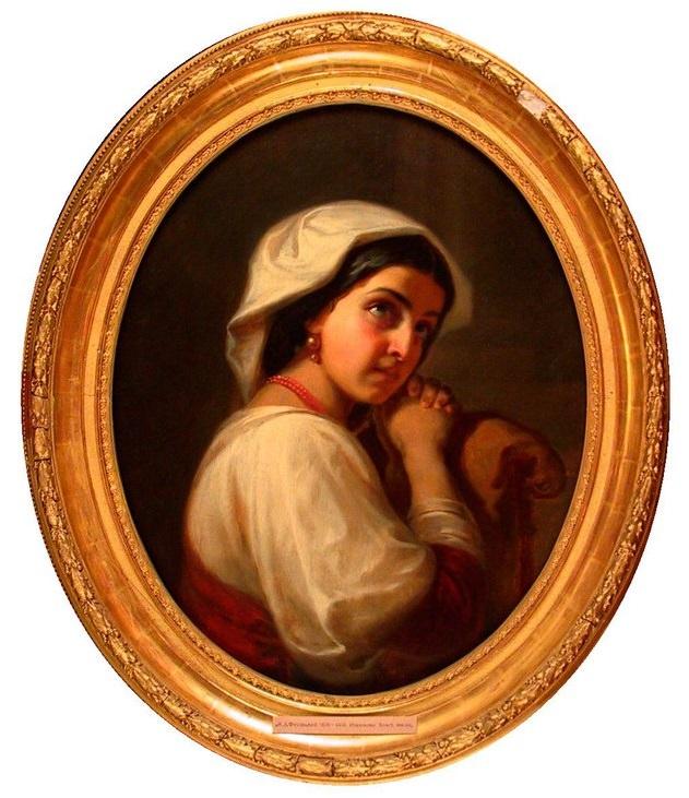 康斯坦丁·德米特里耶维奇·弗拉维茨基(意大利)的一幅画展(1856)