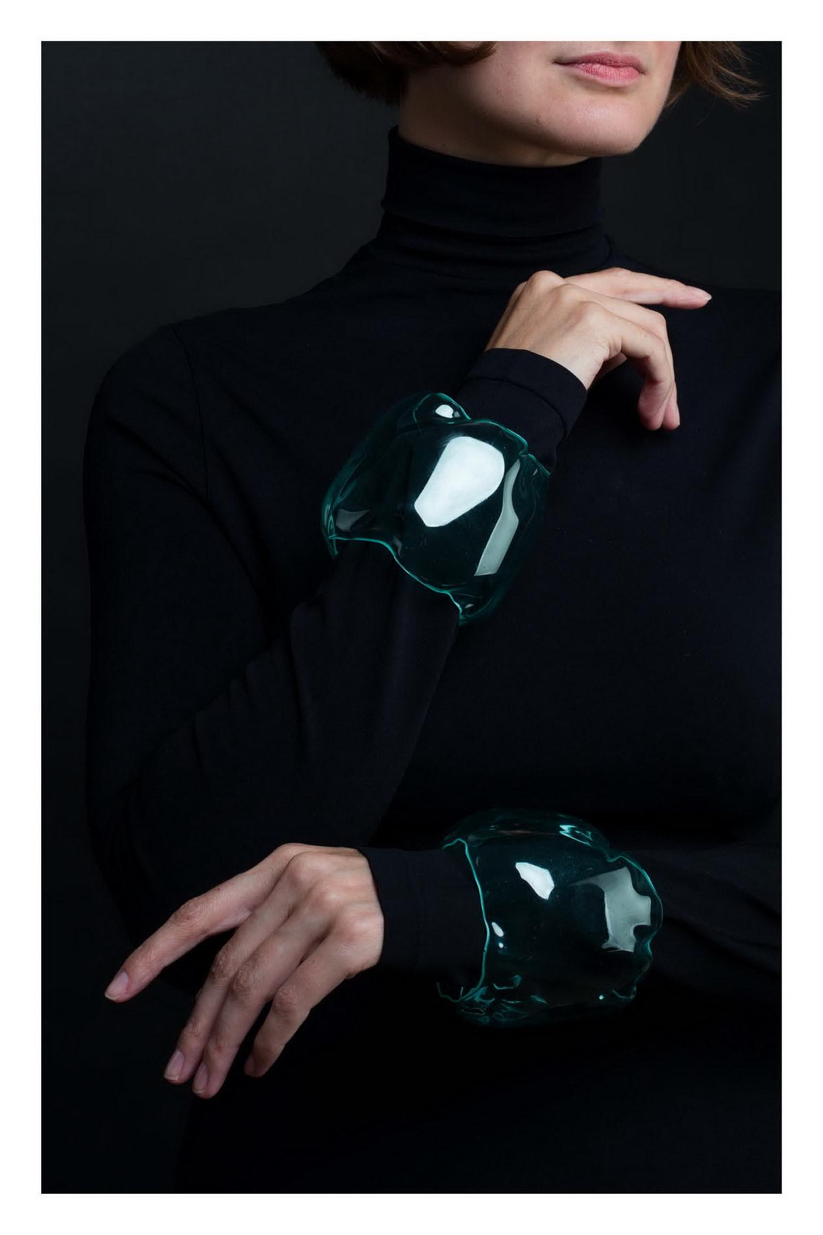 Браслет, Екатерина Лукьянова, Россия, 2019, Переработанный пластик, Собрание дизайнера
