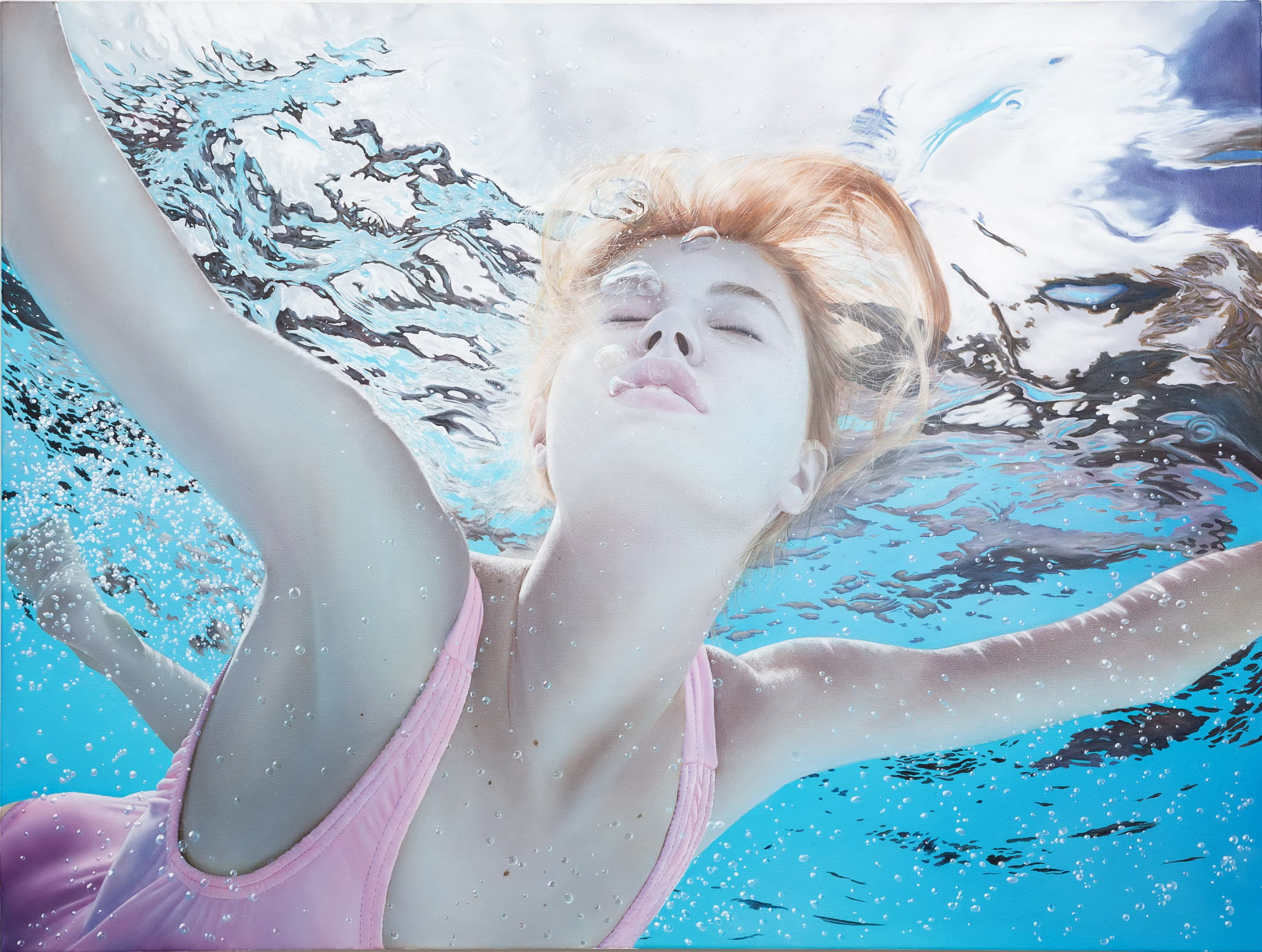 Sergey Piskunov - creator of realistic underwater paintings