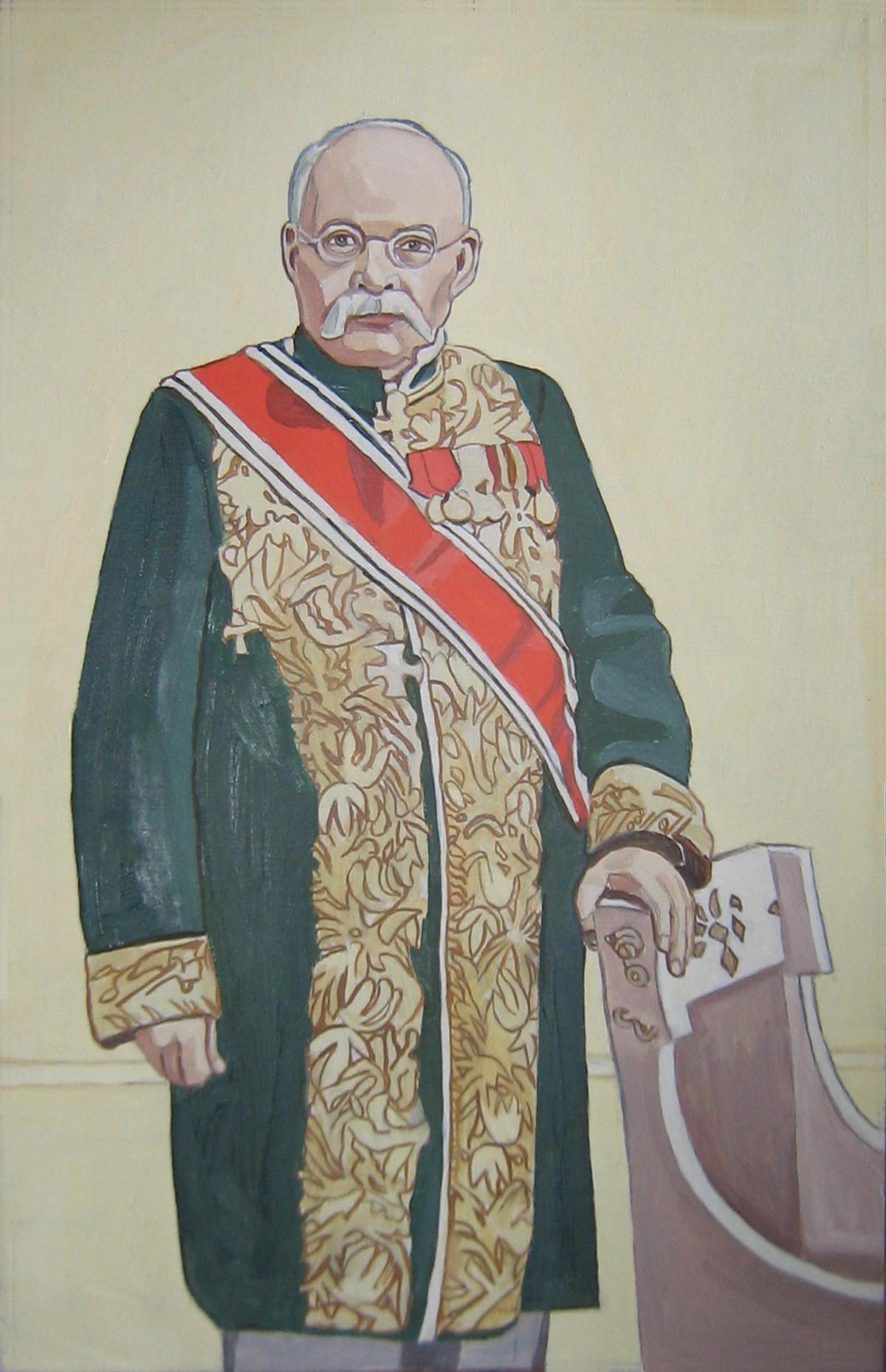 Портрет Ивана Владимировича Цветаева, основателя музея изобразительных искусств им. Пушкина