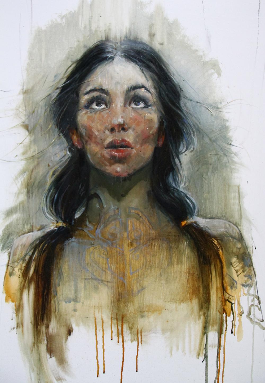 Выставка живописи Дмитрия Чауса «Тень Королевы»