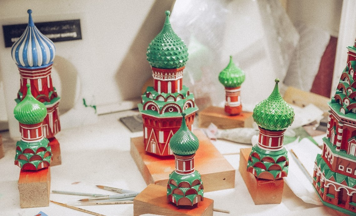 The blind and visually impaired will be able to see the Intercession Cathedral (St. Basil's Cathedral)