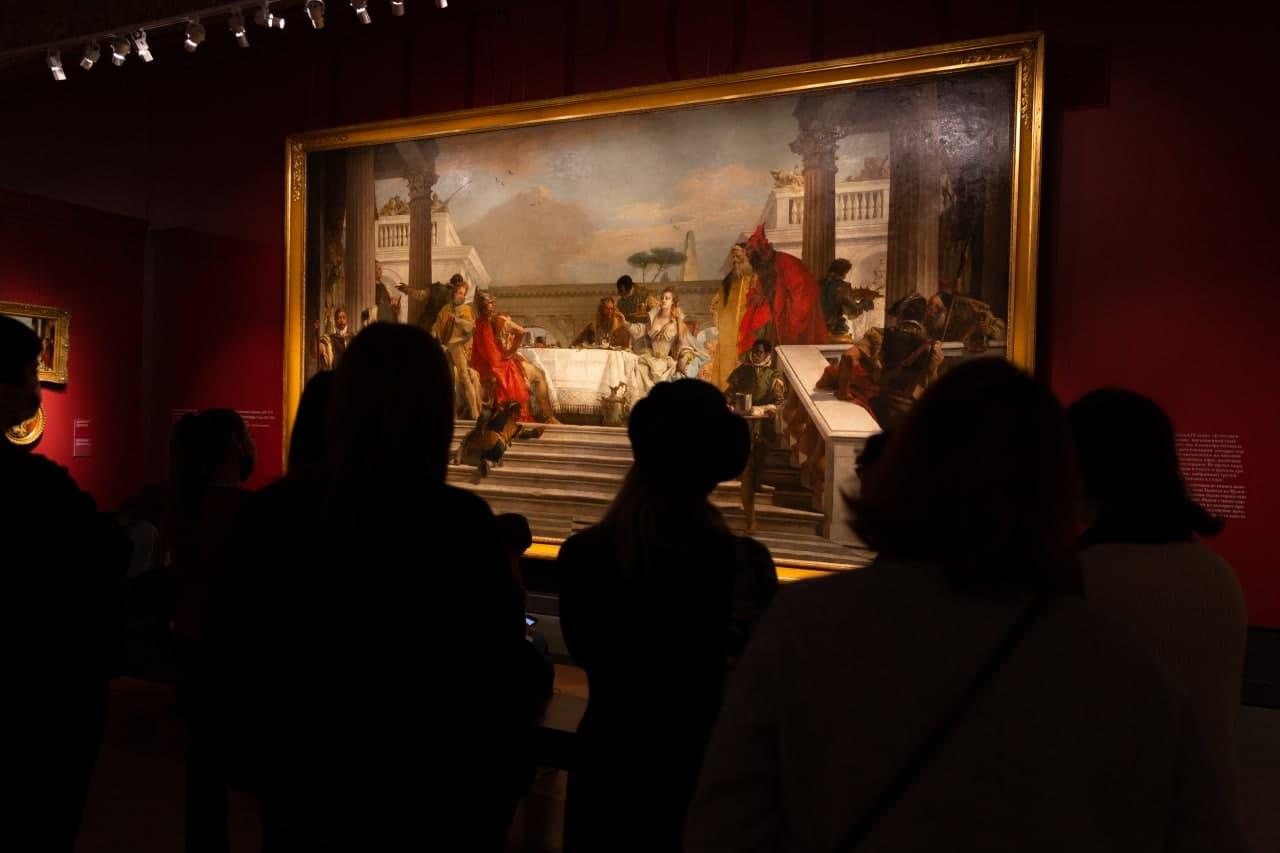 """""""The Moscow life of Giambattista Tiepolo and his son Giandomenico"""""""