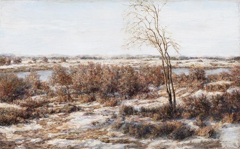 Иван Похитонов. Повеяло весной.1902-1906. Дерево масло