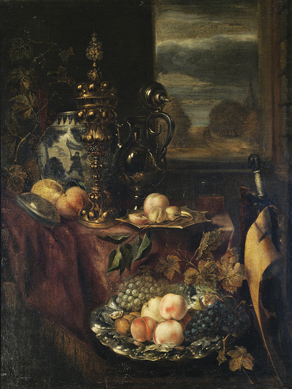 "Exhibition of one painting - Abraham van Beyeren ""Fruit"" (Second half of the 17th century)"