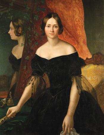 Выставка одной картины Мокрицкого Аполлона Николаевича «Женский портрет» 1841