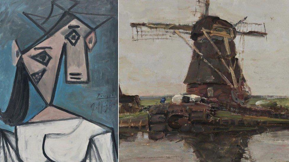 Греческая полиция вернула украденные картины Пикассо и Мондриана