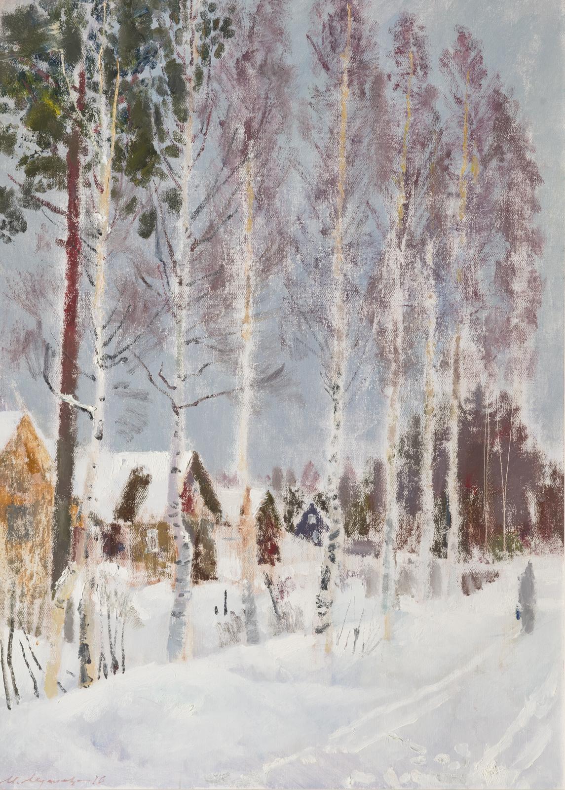 """Musa Musaev """"Wind of distant wanderings"""""""