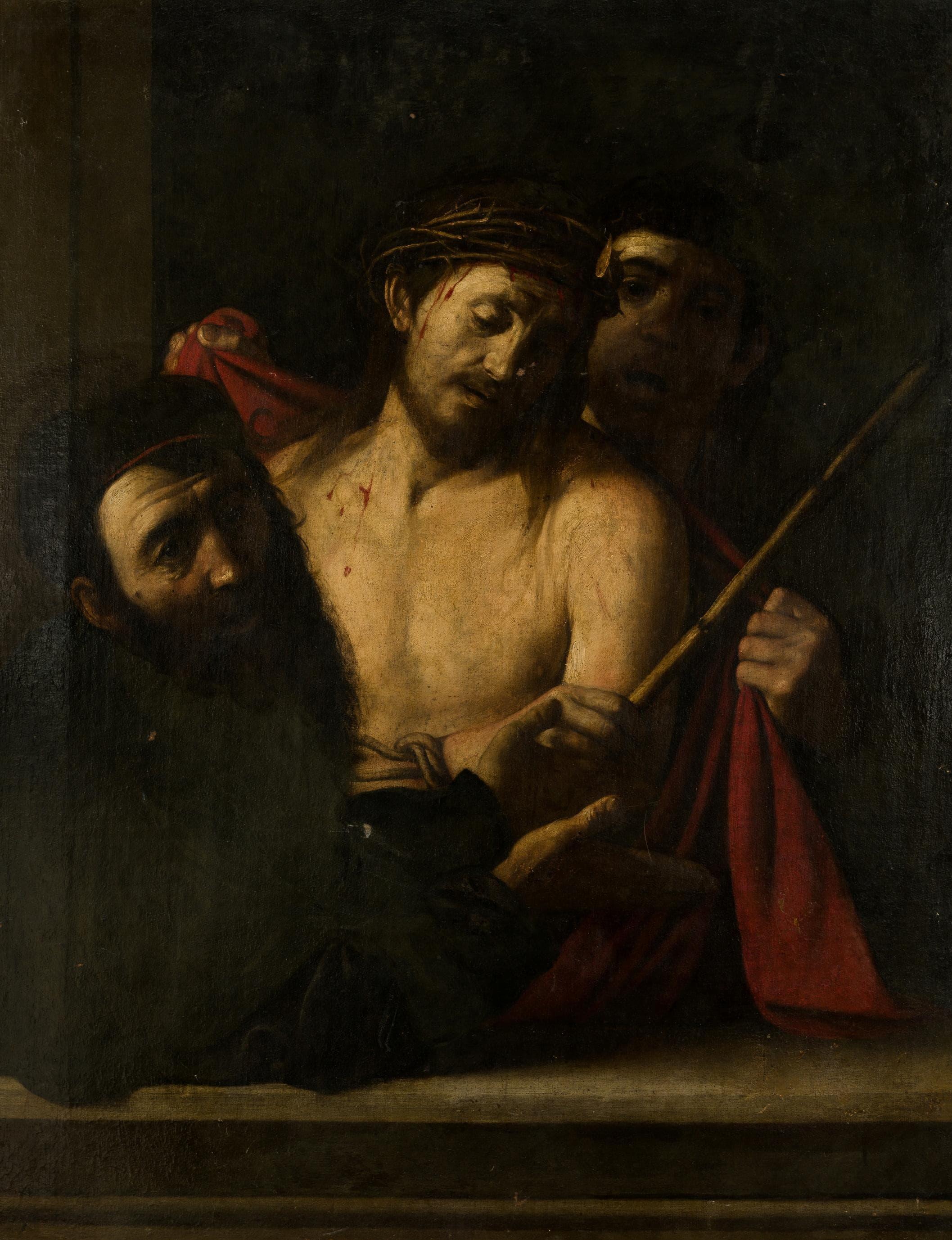 Караваджо (приписывается) — Терновый венец