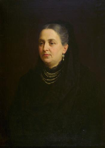 Выставка одной картины «Панталеон Шиндлер. Портрет неизвестной. 1885 год»
