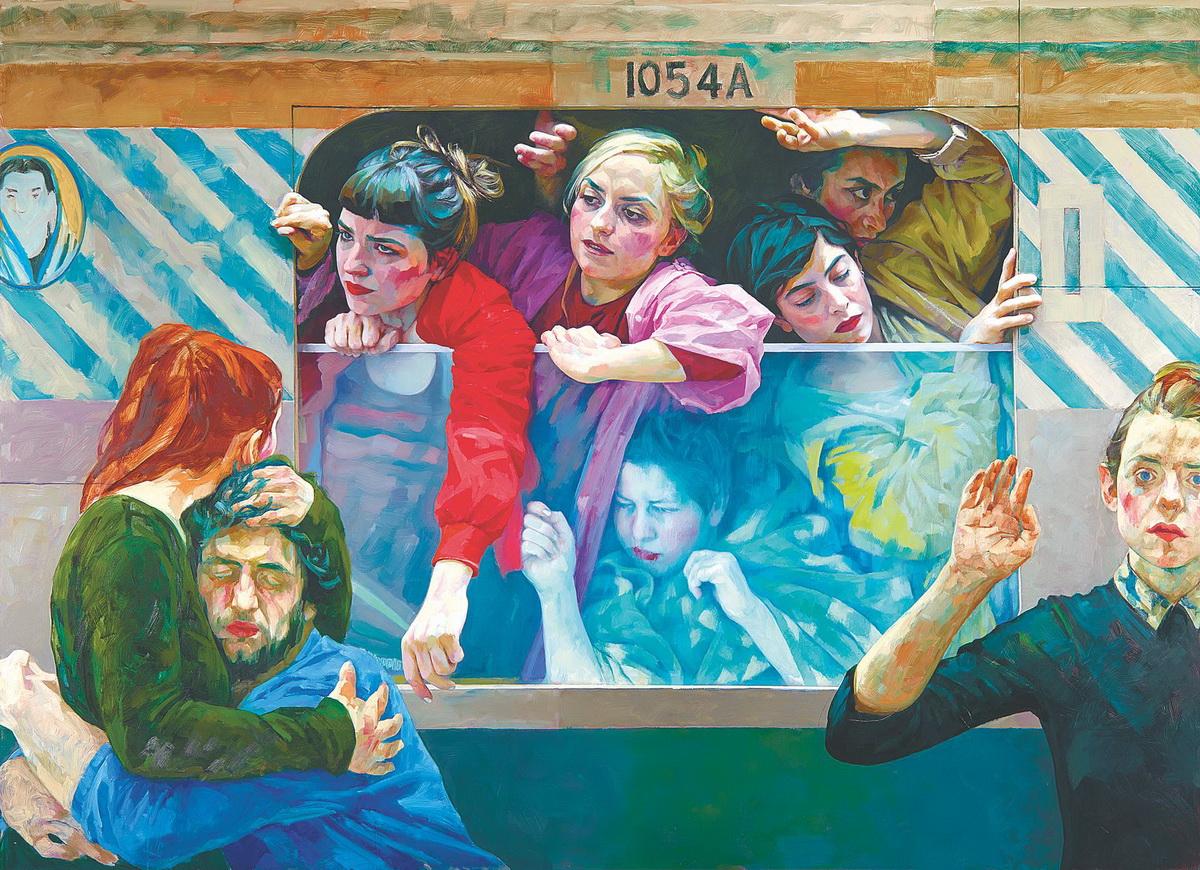 Ксения Хауснер, «Изгнанники-III», 2017