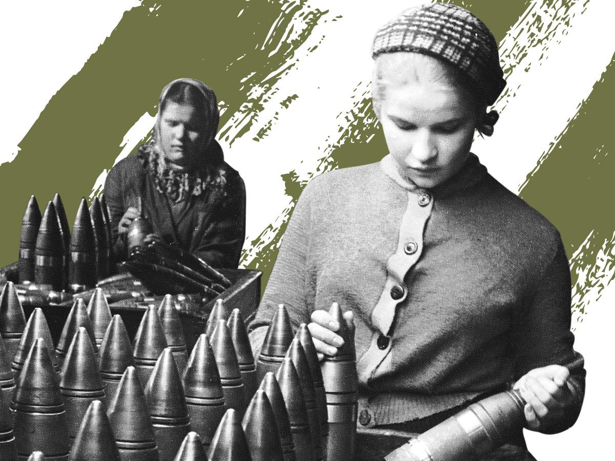 Выставка «Женщины в войне»