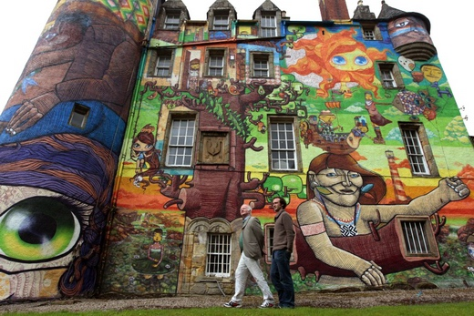 Граффити замка Кельбурн