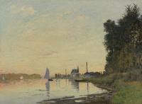 Claude Monet - Argenteuil, Fin d'Après-Midi