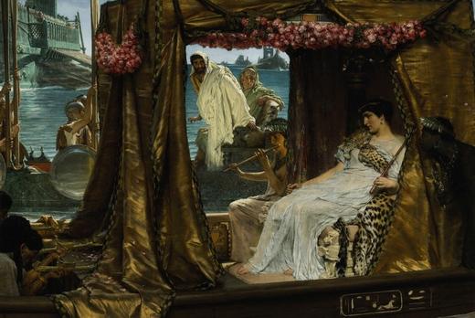 Встреча Антония и Клеопатры: 41 г. до н.э.