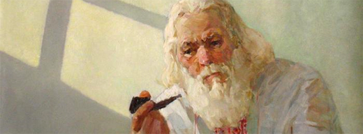 Валентин Коротков - Думы (фрагмент). 2005. Галерея «Колизей Арт»