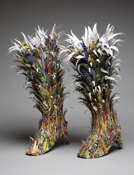 Марина Демпстер: обувь как самовыражение в искусстве