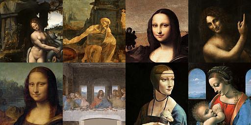 10 самых известных картин леонардо да винчи