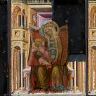 Metropolitan Museum restorers discover hidden background in 14th century painting