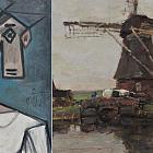 Die griechische Polizei gab die gestohlenen Gemälde von Picasso und Mondrian zurück